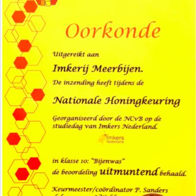 Honing imkerij MeerBijen