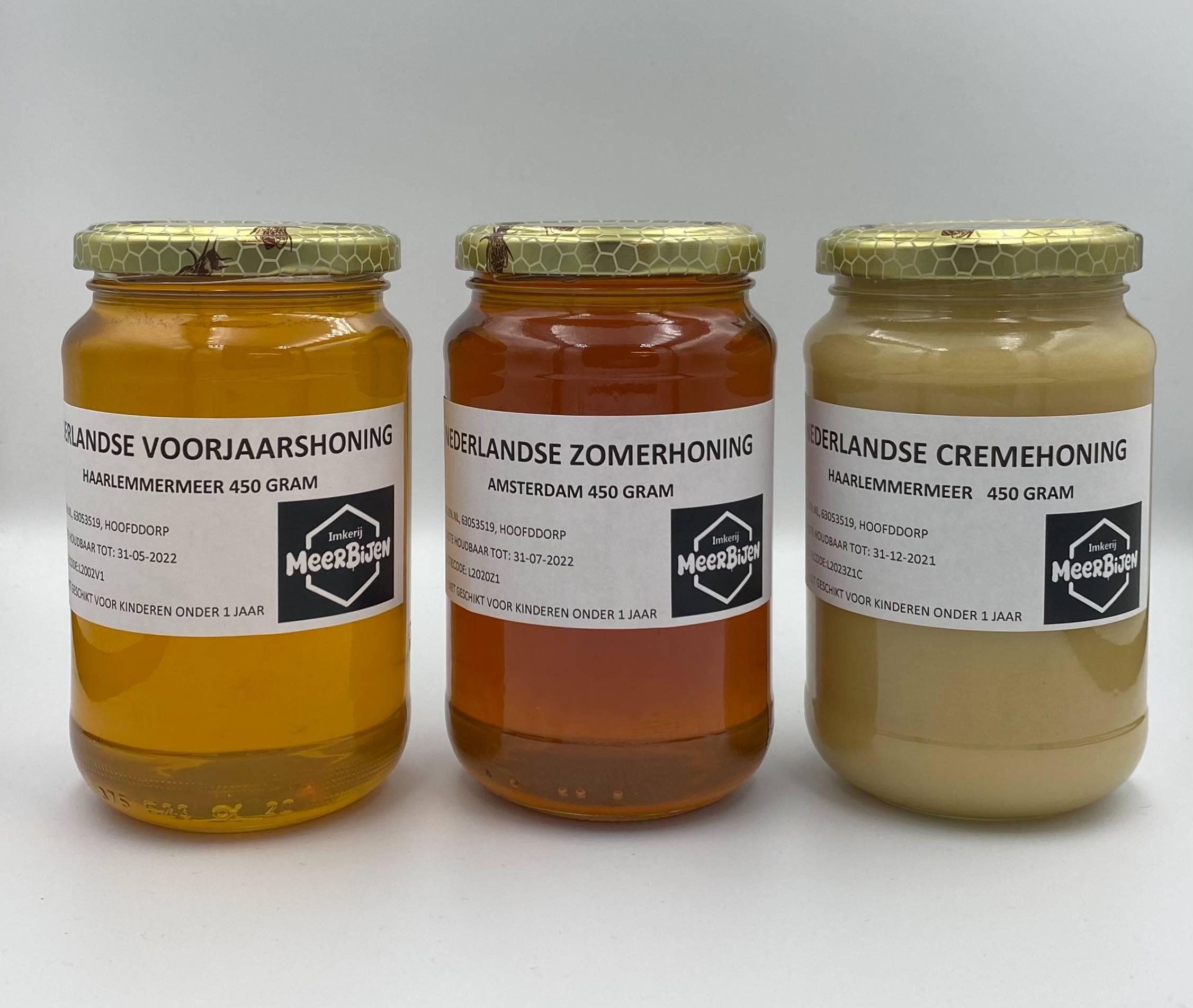 Potten honing van MeerBijen